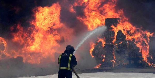 آتش سوزی در بیمارستان کرونایی 10 قربانی گرفت + عکس