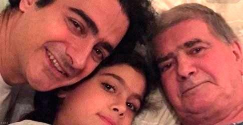 سه نسل خانواده شجریان در یک قاب+عکس
