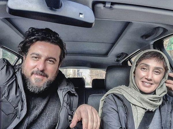 همسر جوان هدیه تهرانی + عکس