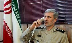 امیر سرتیپ حاتمی بر تدام حمایت از سوریه تاکید کرد