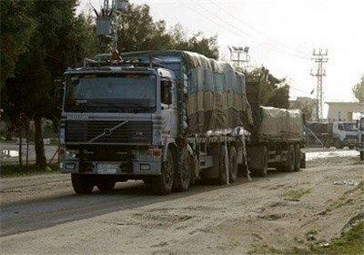ورود محموله کمکهای بشر دوستانه سازمان ملل به استان حسکه سوریه