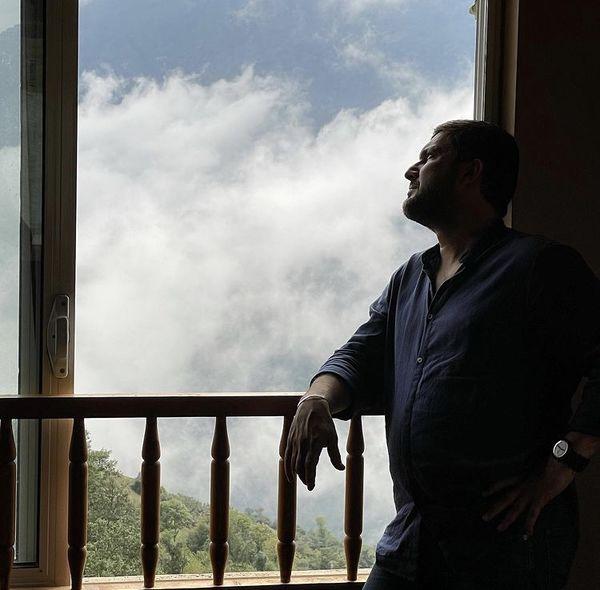 حامد بهداد در ویلای شخصی خود + عکس