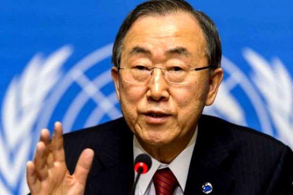 بان کیمون: کرهجنوبی باید پیامی جدی به کرهشمالی بدهد