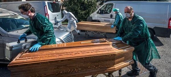 آمار قربانیان ویروس کرونا در ایتالیا به ۵۵۰۰ نفر رسید