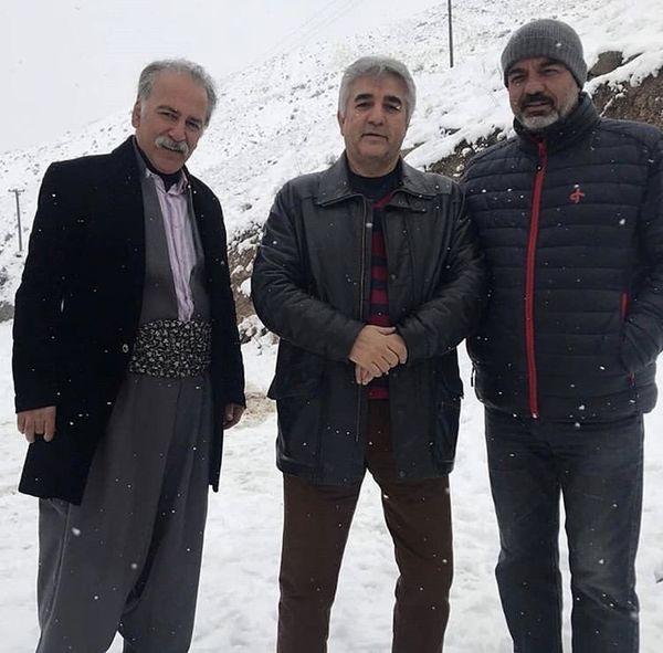 بازیگران نون خ در دل کوهستان برفی + عکس