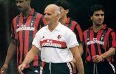 علی انصاریان در کنار سرمربی سابق تیم ملی ایتالیا+عکس
