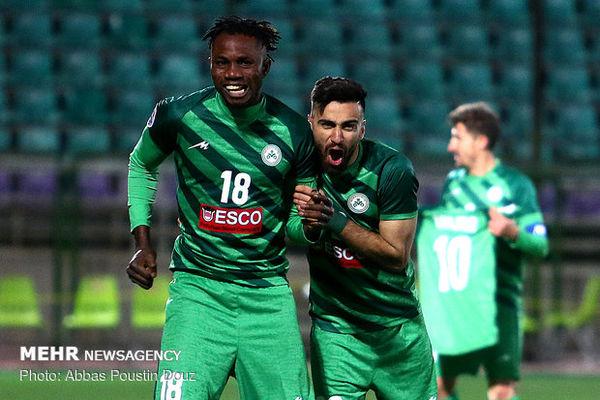 بازگشت مهاجم ذوب آهن به تمرینات قبل از بازی با النصر عربستان