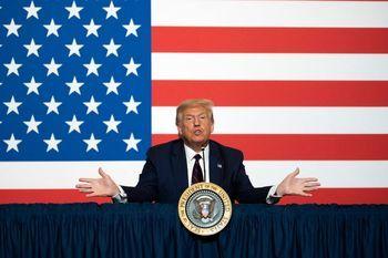 رئیس جمهور آمریکا: آمریکا آزادی رسانه ندارد