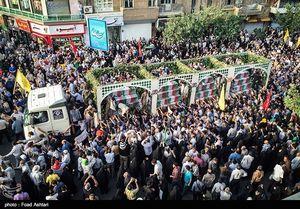 دعوت سپاه از مردم برای شرکت در تشییع پیکر ۱۳۵ شهید گمنام