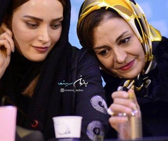 عکس احساسی دو خانم بازیگر معروف