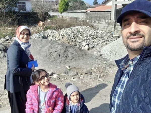 گردش خانوادگی آقای مجری + عکس