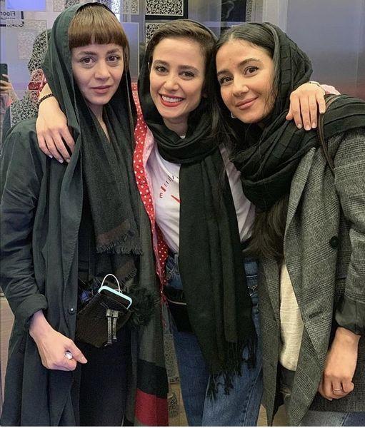 الناز حبیبی وخواهرش + عکس