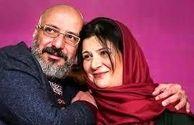 تبریک زیبای تولد امیر جعفری به همسرش