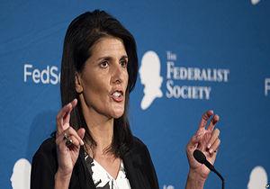 نیکی هیلی: تا زمان محقق شدن اهدافمان در سوریه میمانیم