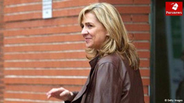 دختر پادشاه اسپانیا به دادگاه فراخوانده شد