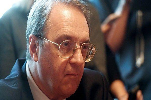 دیدار بوگدانوف با سفیر مصر در روسیه