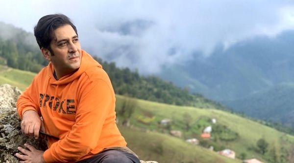 آقای بازیگر جوان در ارتفاعات زیبای شمال + عکس