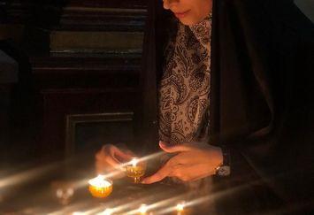مژده لواسانی در انتظار ستاره کوچک+عکس