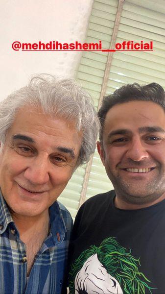 مهدی هاشمی وعلی هاشمی در کنار هم + عکس