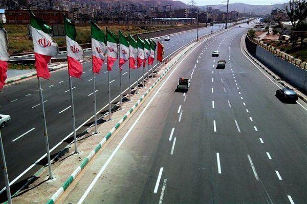 تسهیل دسترسی به بزرگراه های شهید صیاد شیرازی و صدر