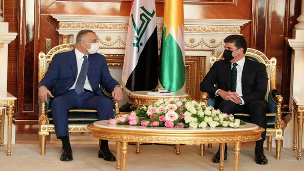 دیدار نخستوزیر عراق با رئیس منطقه کردستان