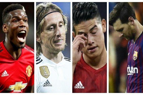 چهار غول فوتبال اروپا در بحران