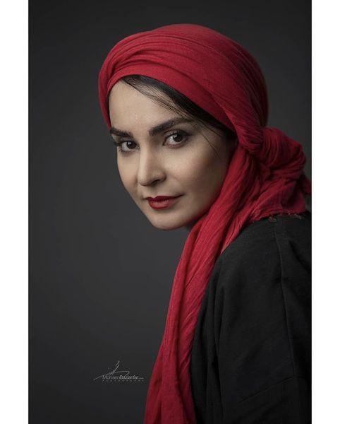 مهدیه نساج با ظاهری ساده + عکس