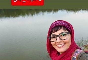 آناهیتا همتی در کنار دریاچه عروس+عکس
