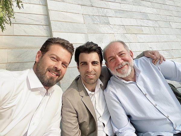 بازیگران معروف سلفی با دموکراسی در یک قاب+عکس