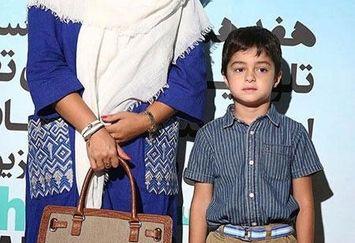 همسر و پسر زیبای شهاب حسینی+عکس