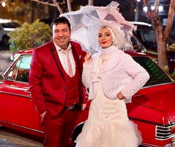 عکس حدیث میرامینی در لباس عروس