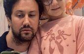 عکس جدید شاهرخ استخری با دختر بزرگش