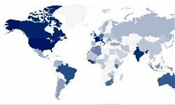 بیشترین تکرار در نام خانوادگی در این کشورهاست + نمودار