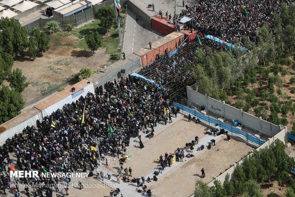 تردد در مرز مهران از مرز یک ملیون نفر گذشت