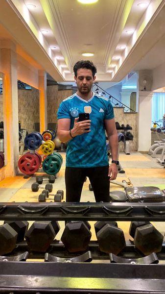 امیرحسین آرمان در باشگاه + عکس