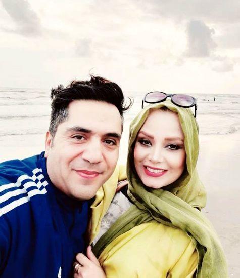 شمال گردی های مجری خوش صدا به همراه همسرش + عکس