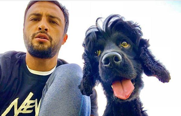 امیر جدید و سگ بامزه اش + عکس