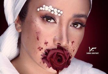 عکس عجیب و دلخراش بهاره افشاری از زن ها!