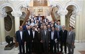 اعضای هیأت رئیسه مجلس میهمان ضیافت افطار لاریجانی