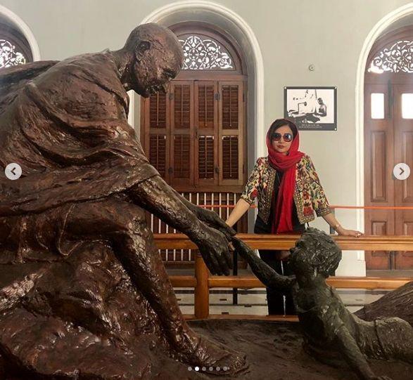 اینستاگرام:هندوستان گردی «شبنم قلی خانی»
