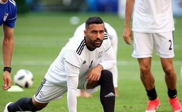سامان قدوس زودتر از تیم ملی به قطر رسید