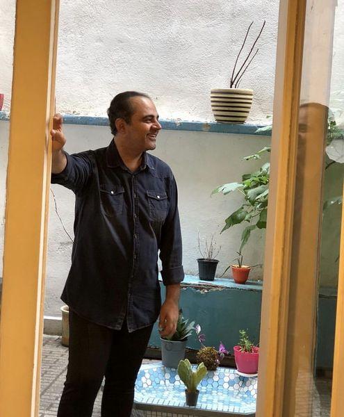 خانه قدیمی رضا مولایی + عکس