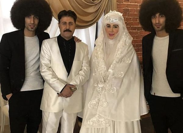 عکسی از عروسی هومن حاجی عبداللهی