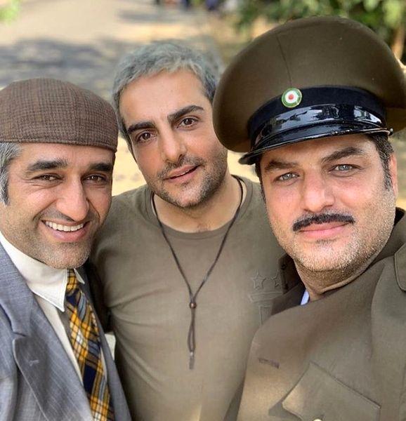 تبریک حامد کمیلی به همکار ارتش سری اش+عکس