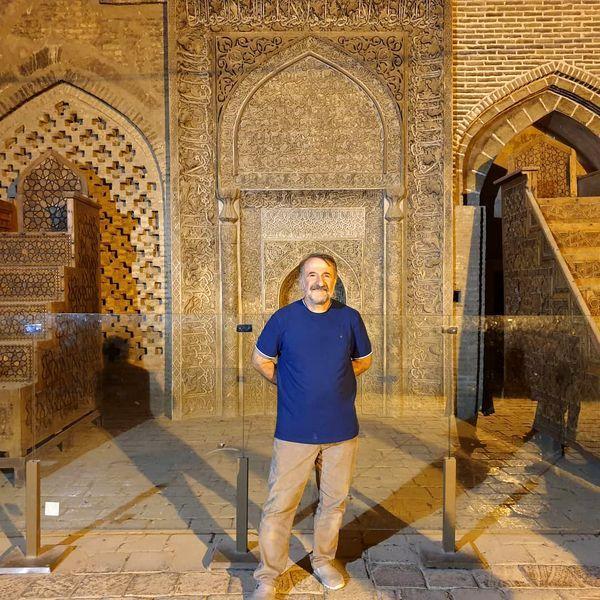 مهران رجبی  در مکان های تاریخی اصفهان + عکس