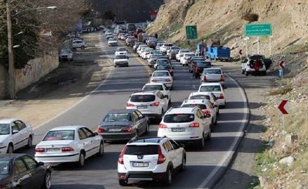 ترافیک نیمه سنگین در آزادراه قزوین - کرج/ محور هراز امروز مسدود است