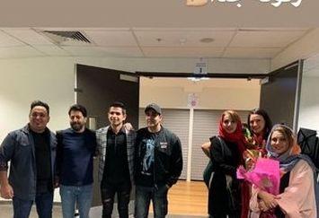 مجلس مردونه زنونه جدا بازیگران در سیدنی