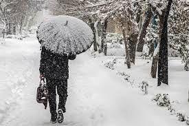 اطلاعیه سازمان هواشناسی درباره بارش برف و باران