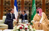 ماکرون با ولیعهد سعودی دیدار کرد