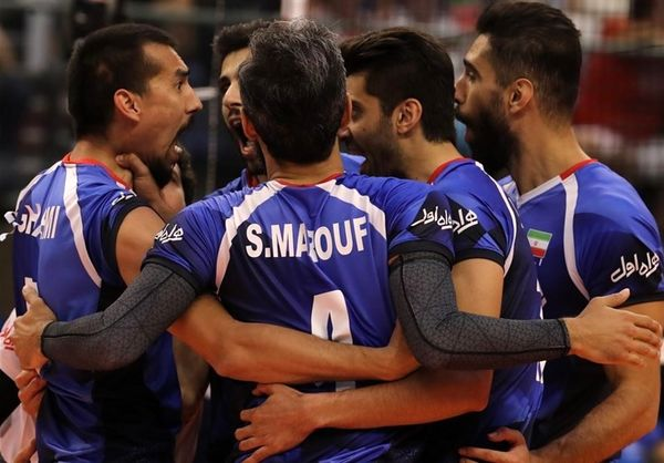 پیروزی تیم ملی والیبال ایران برابر بلغارستان